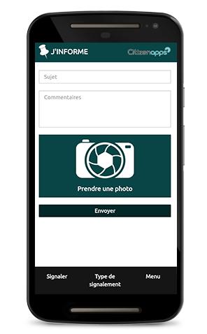 application smartphone pour votre communauté signale les avis positifs