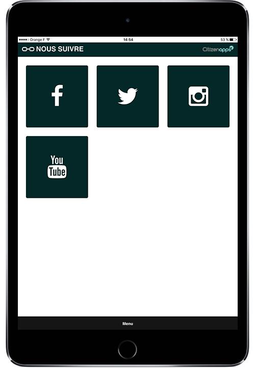 Application smartphone qui renseigné sur les réseaux sociaux