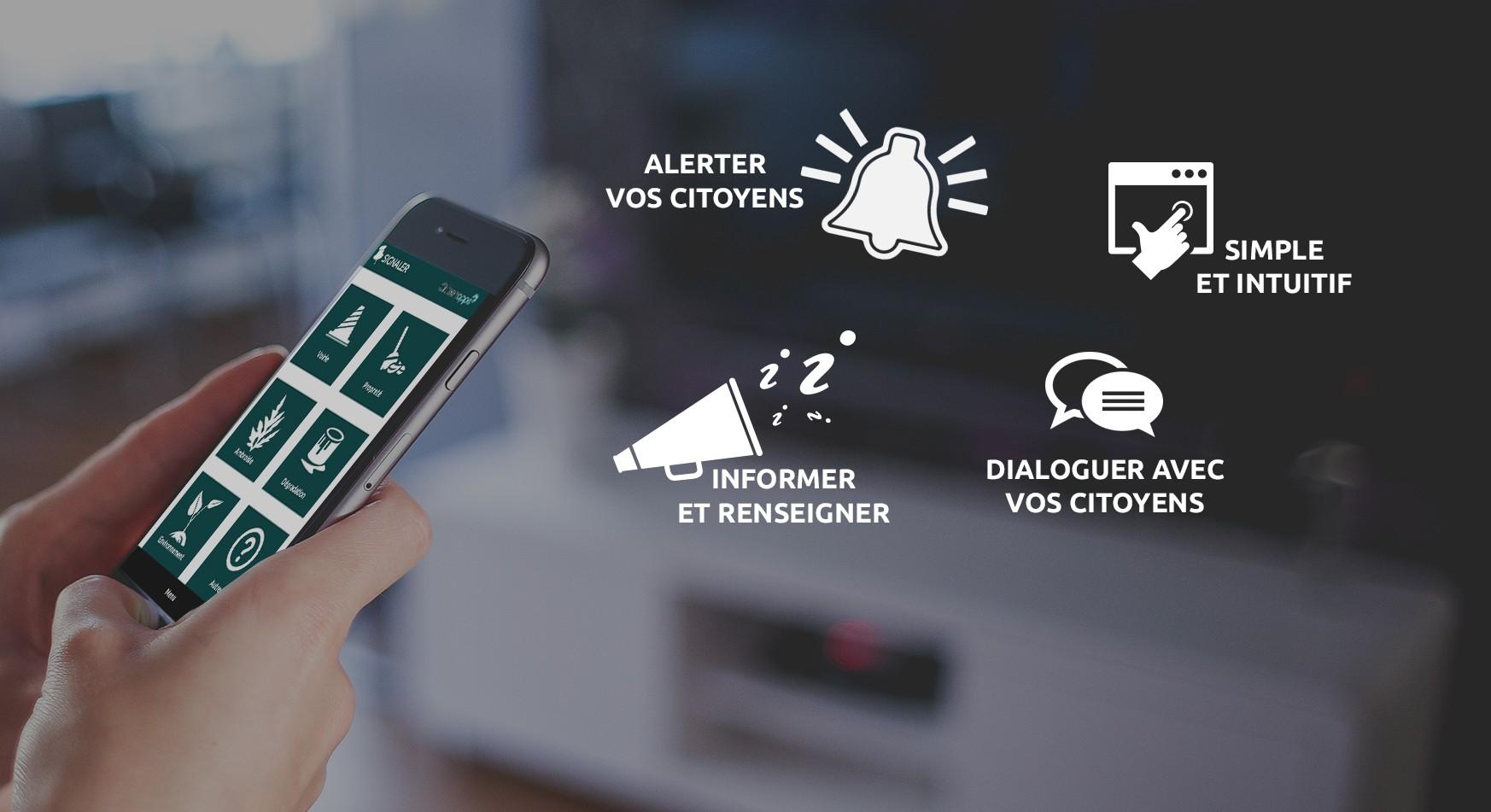 Avantages de l'application mobile pour votre mairie